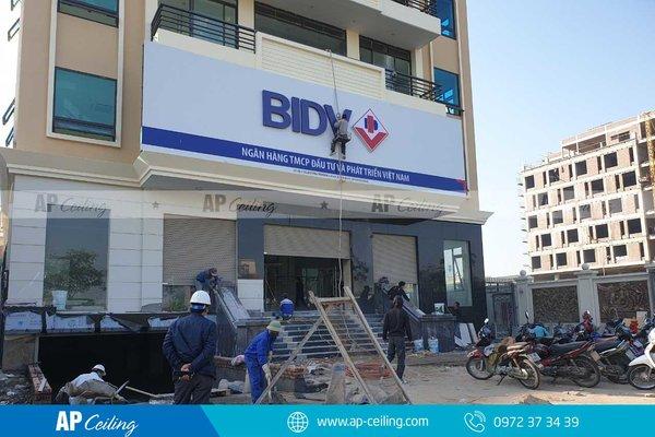 Sảnh ngân hàng BIDV Hải Dương